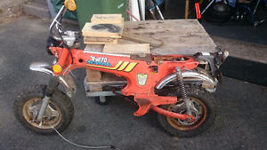 1970's Honda CT 70 Trail Rolling Chassis