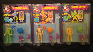 Real Ghostbusters Slimed Heroes Sealed