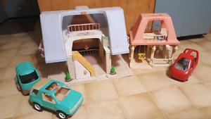 Little Tykes houses