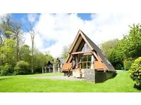 A-Frame Lodge at Clowance Country Estate, Helston, Cornwall