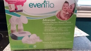 Double electric evenflo breast pump
