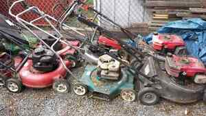 Lot of mowers