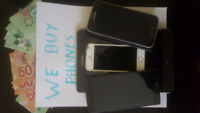 We pay CASH for iPhone 7/ Galaxy s8 and newer Cracked or Used
