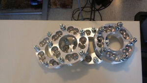 4x Wheel Spacers/Converters  5X4.5 OR 5X4.75 TO 5X5.5