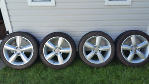 "17"" Mags+Winter Tires 850$ (AudiA3/A4 -VW Jetta/Golf)"