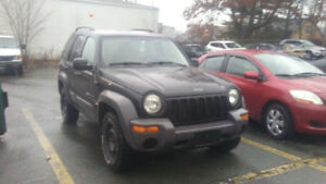 2003 Jeep Liberty Sporty SUV, Crossover 4X4