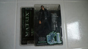 McFarlane Toys Neo lobby shootout from the Matrix