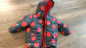 Baby girl 6-12 month outerwear