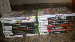 Assorted misc. XBOX 360 Games
