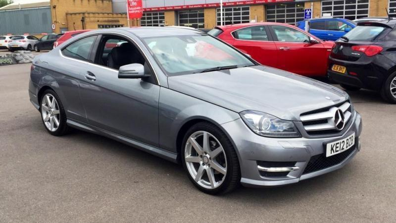 2012 mercedes benz c class c250 cdi blueefficiency amg sp automatic diesel coupe in chelmsford. Black Bedroom Furniture Sets. Home Design Ideas