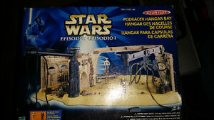 Star Wars Pod racer Hangar Bay brand new in box only $19........ London Ontario image 1