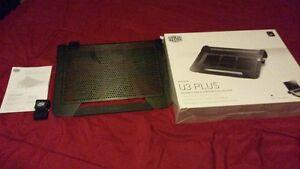 Cooler Master NotePal U3 PLUS - Gaming Laptop Cooling Pad with 3