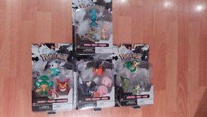 Pokemon Figures - Series 2 set and Series 3 set, and singles