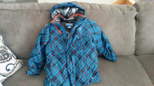 Boys Columbia Winter Jacket, size 8