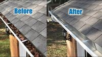 Eavestrough cleaning for you!! $40