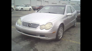 2003 MERCEDES C230 COMPRESSOR 120000kms 3500$@902-293-6969