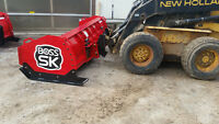 snow pusher , box plow , tailgate salter, salt bins