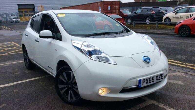 2015 Nissan Leaf Tekna Automatic Electric Hatchback