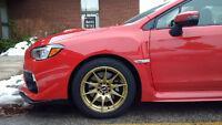 """NEW 17""""XXR (5x114/100) + 225/50/R17 Pirelli snows–Subaru WRX STi"""