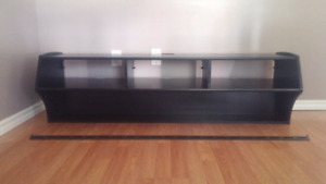 Floating entertainment center with wall mount $80