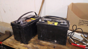 Buying old car batteries