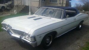 1967 CHEVY CAPRICE    **MUSCLE WITH COMFORT**