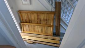 King size bed- Oak Furniture land - Mango wood