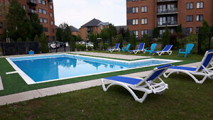 Brossard Sector C for rent 3 1/2, 4 1/2, swimming pool