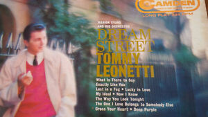 LP: Dream Street Tommy Leonetti, Marion Evans & His Orchestra Kitchener / Waterloo Kitchener Area image 2
