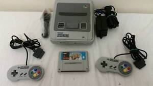 Super Nintendo Console with Controllers and Super Mario Kart SNES Holden Hill Tea Tree Gully Area Preview