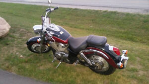 LOW KM FULLY CERTIFIED HONDA SHADOW 750 ACE