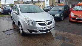 Vauxhall Corsa 1.3CDTi 16v ( 75ps ) Life 5 DOOR - 2008 57-REG - 9 MONTHS MOT