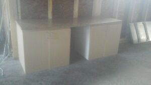 Nice set of lower cabinets and counter top. TRURO