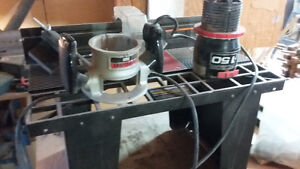 Craftsman router table /with router