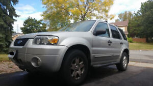 CERTIFIED & MUST GO 2007 FORD ESCAPE XLT V6