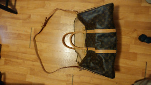 LV replica gym duffle bag