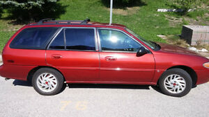1997 Ford Escort Wagon-with NO RUST!