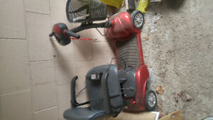 Elderly scooter. New battery. Electrical connection issue. As is