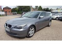 2008 BMW 520 2.0TD DIESEL 3 Owners Long MOT Bargain