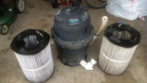 Sta-Rite Pool Filter and cartridges