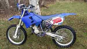 2001 yz 125 with ownership reduced