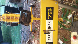 TRADE 1970s 7/22 CRAFTSMAN SNOWBLOWER FOR CORD OF MIXED FIREWOOD