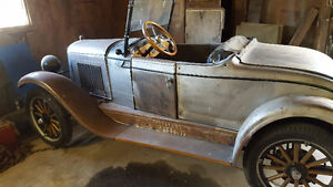 1927 chev roadster project
