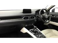 2018 Mazda CX-5 Cx-5 Estate Sport Nav Petrol blue Manual