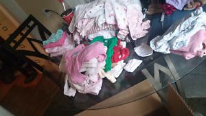 Newborn to 9months Girls Clothes