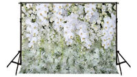 *photo backdrop* white flowers for wedding or special events