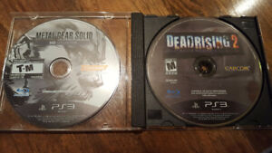 Metal Gear Solid HD Collection and Dead Rising 2