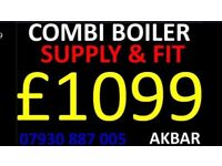 BOILER INSTALLATION,Powerflush,Floor standing boiler & CYLINDERS REMOVED, GAS safe HEATING, Vaillant
