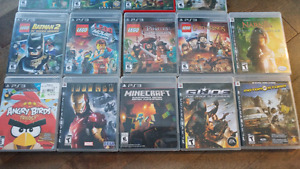 Various Xbox One and PS3 Games