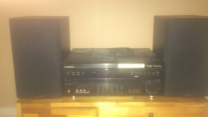 Pionner Stereo with Paradigm Speakers